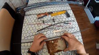 видео: Хапужка хлопок, пошаговая инструкция сборки  1 часть,