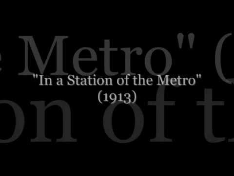 ezra pound in a station of the metro essay