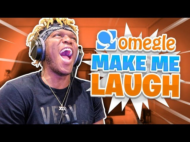 TRY TO MAKE ME LAUGH (OMEGLE)