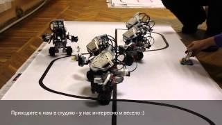 """Робот ГироБой - Студия робототехники """"Первый Робот"""""""