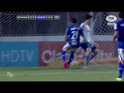 Gols - Botafogo 2 x 5 Cruzeiro - Copa do Brasil 2016