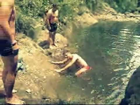 nadando en el río de Jilotzingo - YouTube