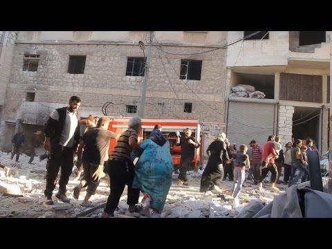 Air strikes in Syria's Idlib province kill at least 6