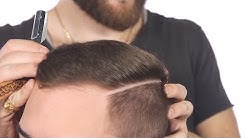 How to Make a Hard Part - TheSalonGuy