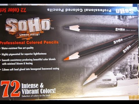 SoHo Urban Artist Pencil Review