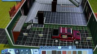The Sims 3 - How To Make Foundation Attached Garages