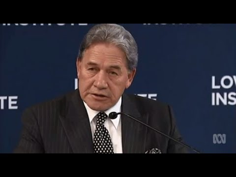 Winston Peters wants to ramp up aid in the Pacific but Australia unlikely to do more