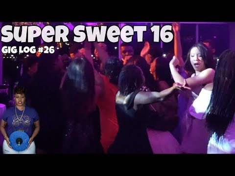 MADE THINGS A LOT SWEETER FOR THIS TEEN PARTY!   Female DJ Gig Log 26   #LiXxerExperience TV