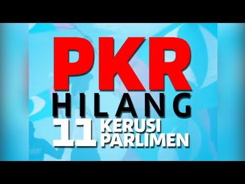 PKR hilang 11 kerusi Parlimen