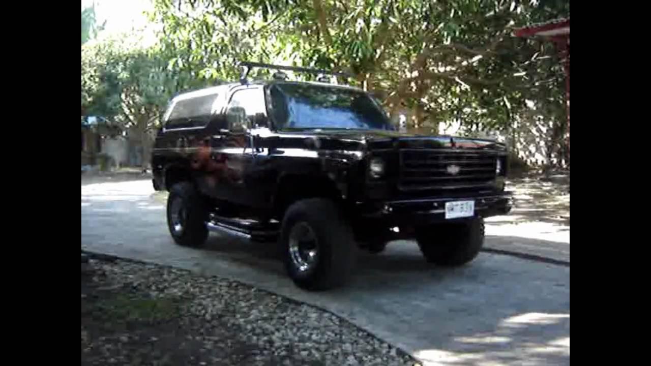1976 Chevy Blazer k5 4x4 - YouTube