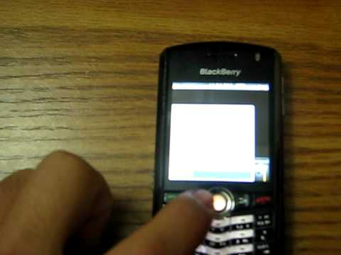 Blackberry Pearl 8100 Review Pt 2