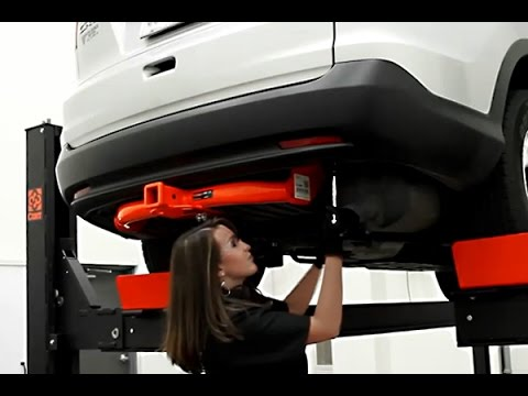 Curt rear trailer hitch installation on honda cr v youtube for 1999 honda crv window motor replacement