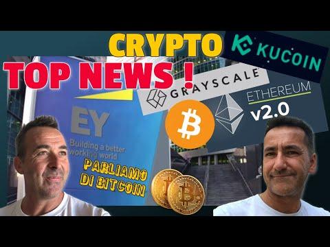 Parliamo di Bitcoin -Top News! Grayscale, Kucoin Hacker, Eth 2.0, EY ed Ethereum -1a Analisi Week 40