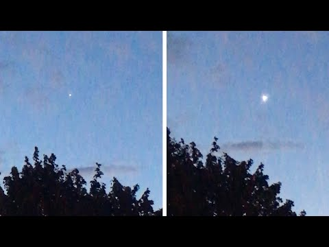 Baffled Dad Claims UFO Flew Over London