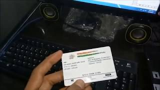 How to make PVC AADHAAR,Driving License with Epson L800, L805, L810, L850 Card Printing