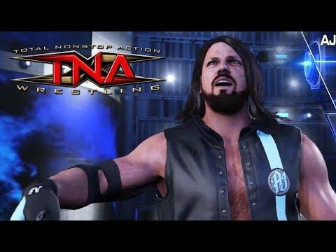WWE 2K19  TNA Classic AJ Styles Custom Entrance Music