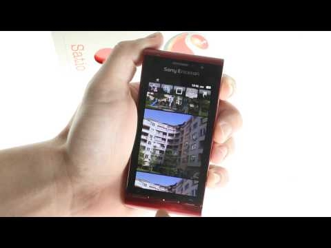 Sony Ericsson Satio UI