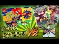 BEAN BOOZLED CHALLENGE! 4 Steam Siege Booster Packs Opening - PACK BATTLE vs. Trainer TV!