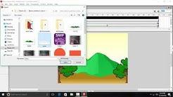 Membuat Animasi Hujan dengan Macromedia Flash8