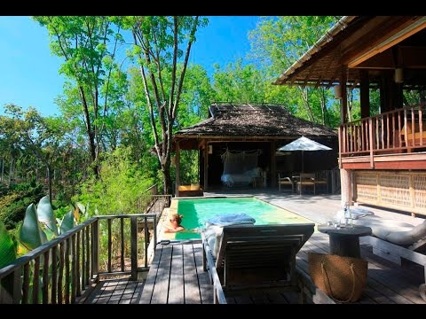 six senses yao noi phuket thailand two bedroom hideaway pool villa walkthrough hotel. Black Bedroom Furniture Sets. Home Design Ideas