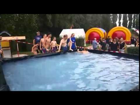 Zeskamp 2015 zwembad spel youtube for Zwembad spel