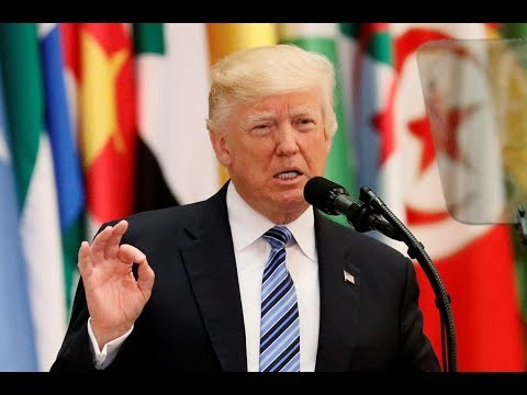 President Trump delivers speech at Arab and Muslim leaders'