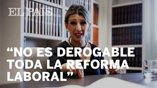 Entrevista a YOLANDA DIAZ, ministra de TRABAJO y ECONOMÍA SOCIAL
