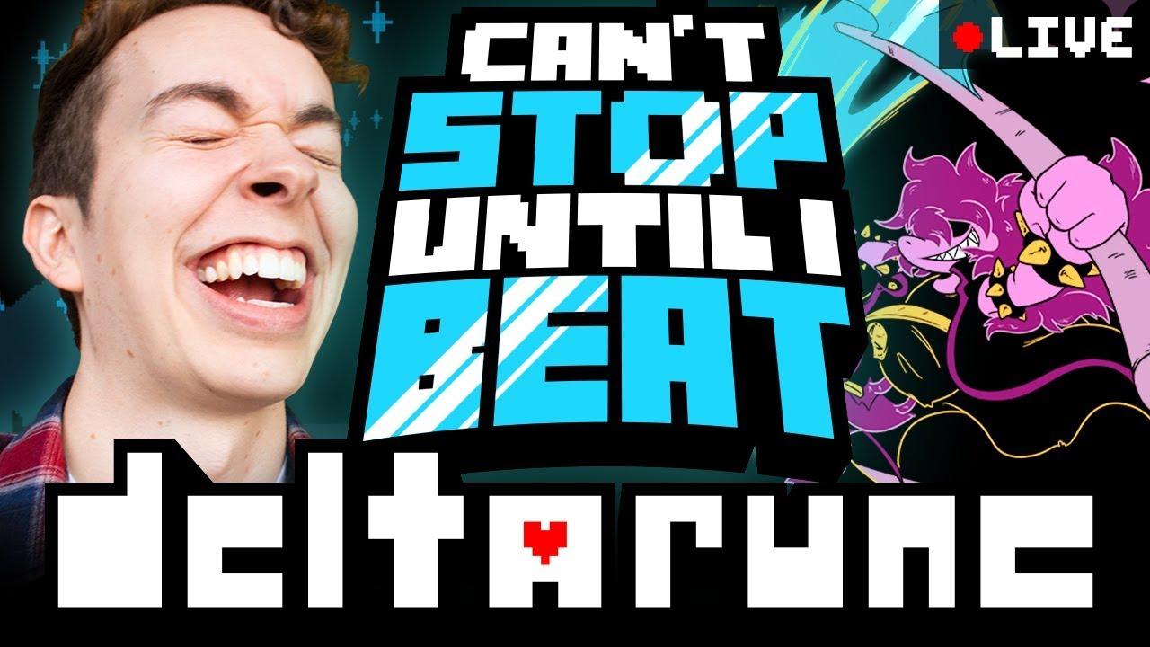 I WONT STOP UNTIL I FINISH DELTARUNE! (Undertale 2?) - Vloggest