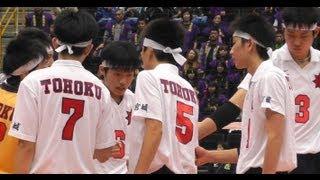 春の高校バレー 東洋 東京 vs 東北 宮城 男子3回戦 2013