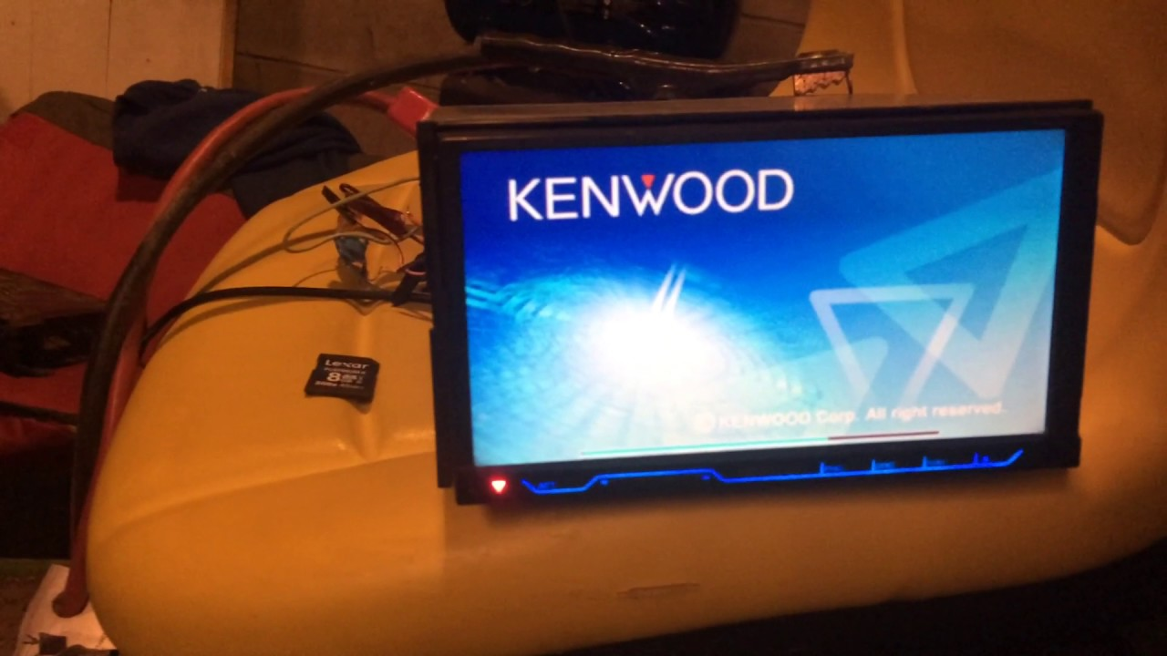How to update on the kenwood dnx7120