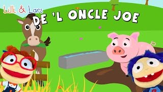 Dans La Ferme De l'Oncle Joe -  comptine avec les paroles - old MacDonalds