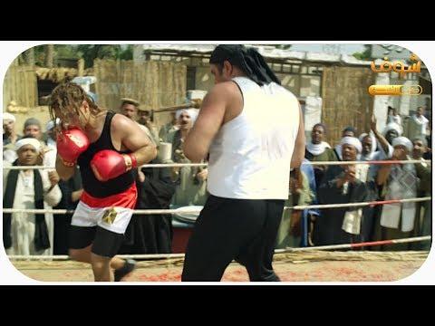 الكبير اوي - El Kabeer Awy -  قصة جوني و ماتش الملاكمة 😂😂😂