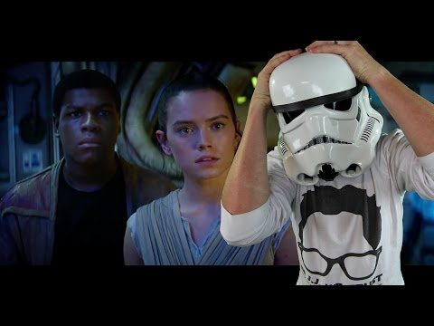 Star Wars: The Force Awakens Trailer - Reaction/Review