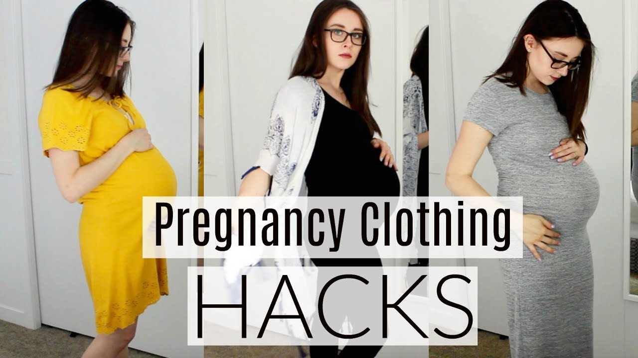 MONEY SAVING Maternity Clothing Hacks || LoeppkysLife - YouTube
