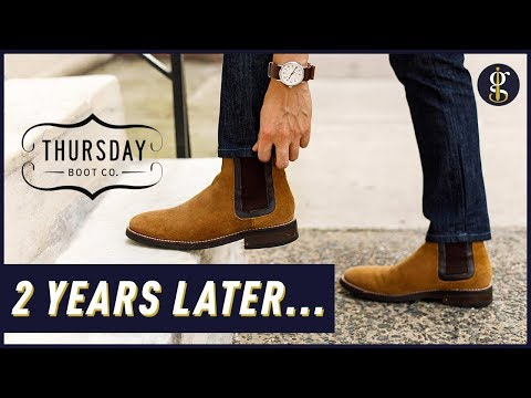 THURSDAY BOOTS REVIEW | 2 Years Wearing The President, Captain & Duke