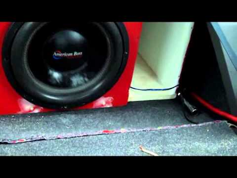 2 American Bass XFL Subs On Hifonics Zeus 2000 Amp