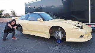 Parking Lot Drift Repairs
