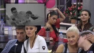 Zadruga 2 - Mina gleda svoj snimak kako priča sa Markom - 24.05.2019.