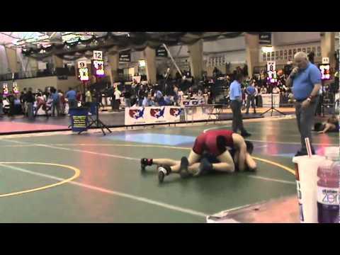 FILA Cadet GR 76kg - Richard Carlson (MN) vs. Just...