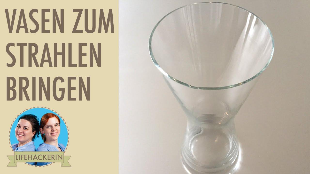 Reinigen Mit Backpulver : vasen reinigen mit backpulver putz hack youtube ~ Watch28wear.com Haus und Dekorationen