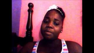 JNILLIE singing hold my hand by glacia robinson