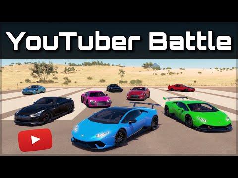 The Ultimate YouTuber Dragrace | Forza Horizon 3 | ft. Jake Paul, Behzinga, JP Performance & more!