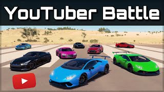 The Ultimate YouTuber Dragrace | Forza Horizon 3 | ft. Jake Paul, Behzinga, JP Performance & mor