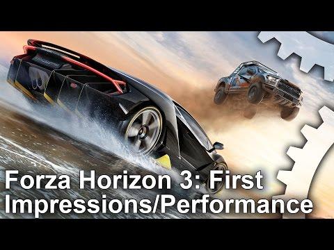 Digital Foundry протестировали разрешение и частоту кадров Forza Horizon 3 на Xbox One