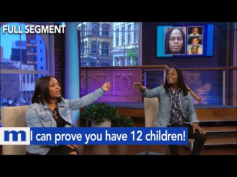 I can prove you have 12 children! | The Maury Show from YouTube · Duration:  10 minutes 11 seconds