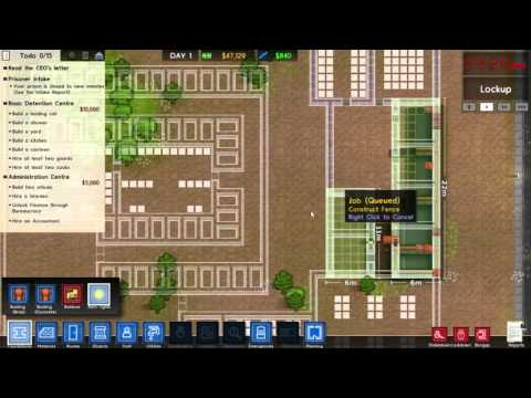 Prison Architect - V1 Release - The Administrative Grant