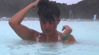 swimming & free Silica mask at Blue Lagoon- Iceland