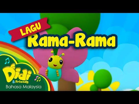 Lagu Kanak Kanak | Rama-Rama | Didi & Friends