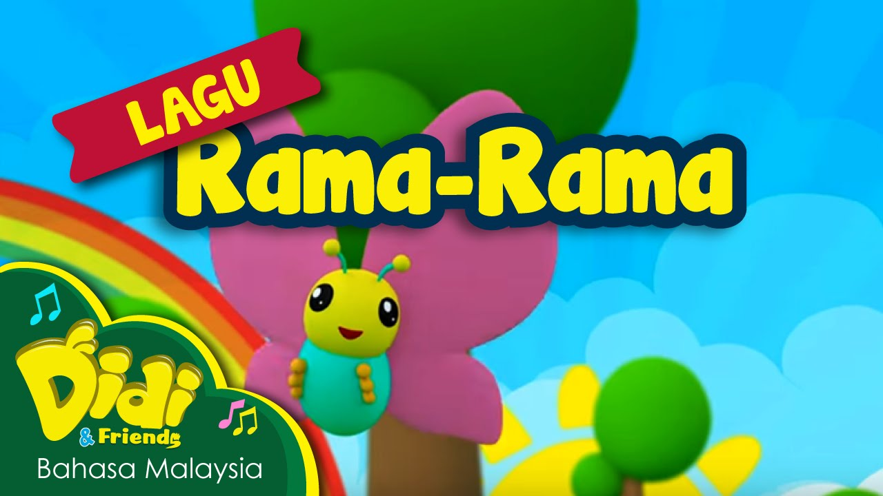 Lagu Kanak Kanak Rama Rama Didi Friends Youtube