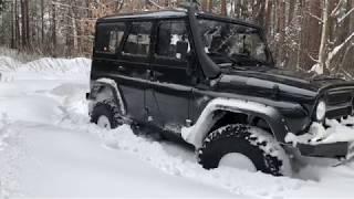 Уаз Хантер За Лимон И Уаз  За 60 Тыс Рублей Offroad По Глубокому Снегу